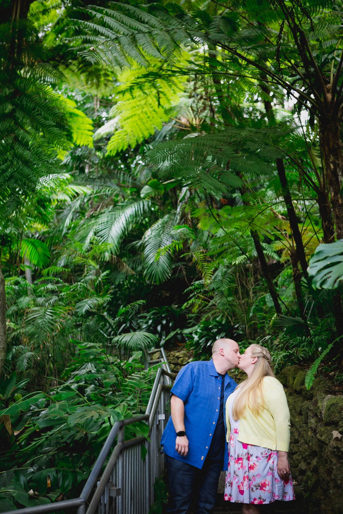 Engagement photos at the San Diego Zoo