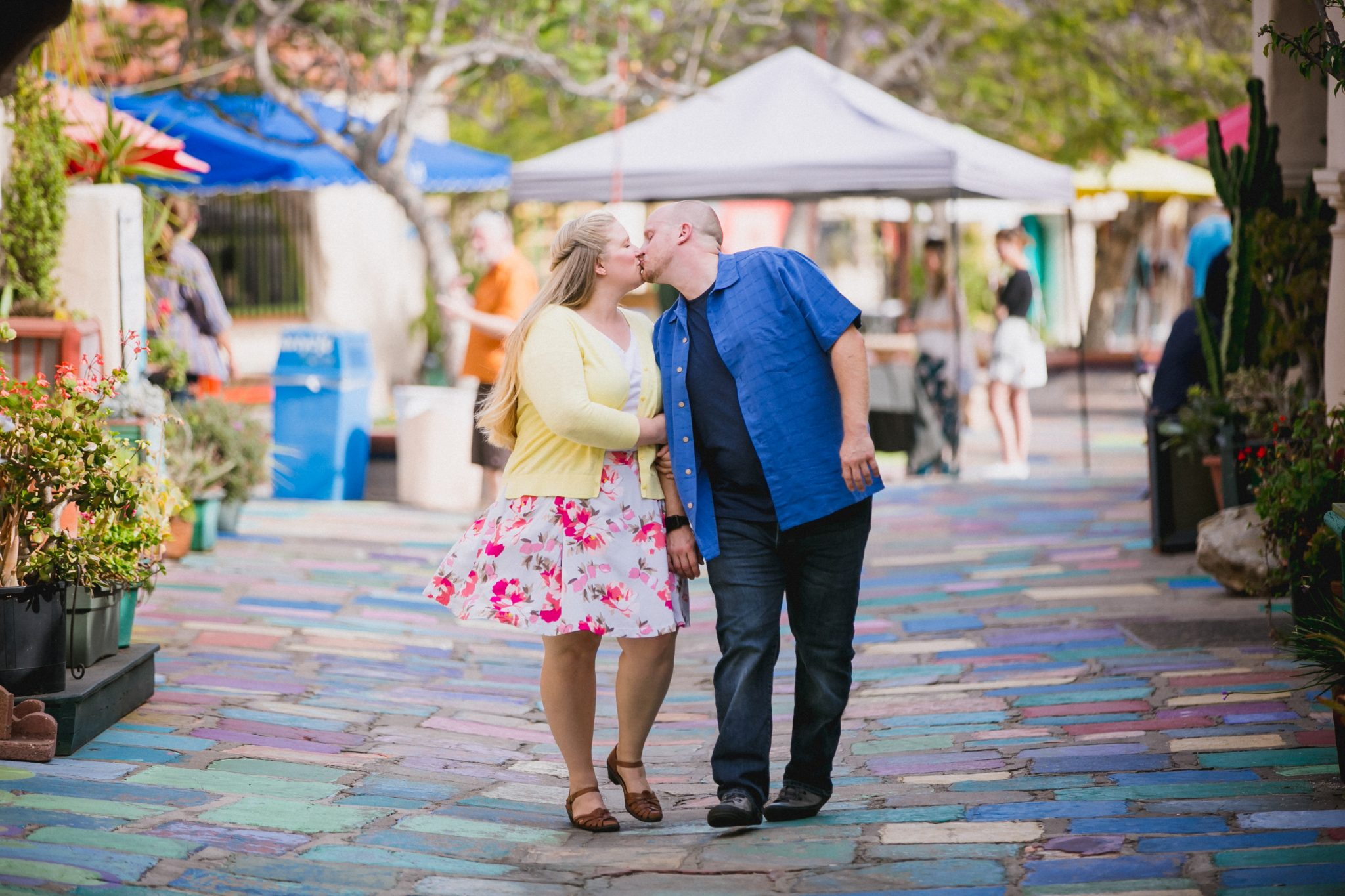 Spring photoshoot outfit ideas at Balboa Park